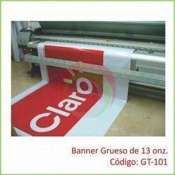 Banner Grueso de 13 onz.