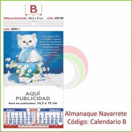 Código: Calendario B
