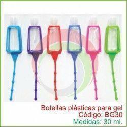 Botellas plásticas para gel