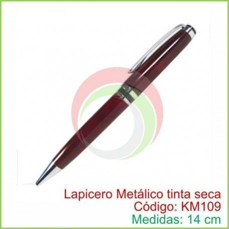 Lapiceros Metálicos tinta seca