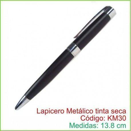 Lapicero Metálico tinta seca