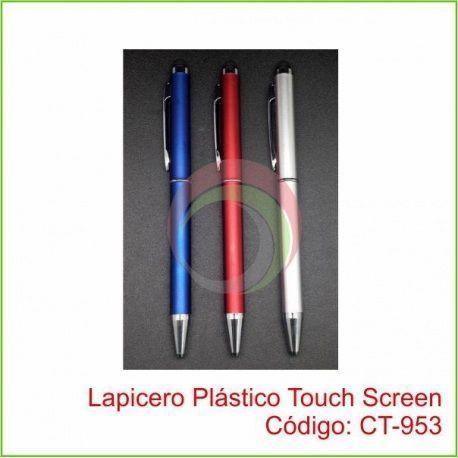 Lapicero Plástico Touch Screen