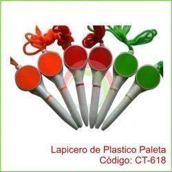 Lapicero de Plastico Paleta