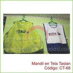 Mandil en Tela Taslan