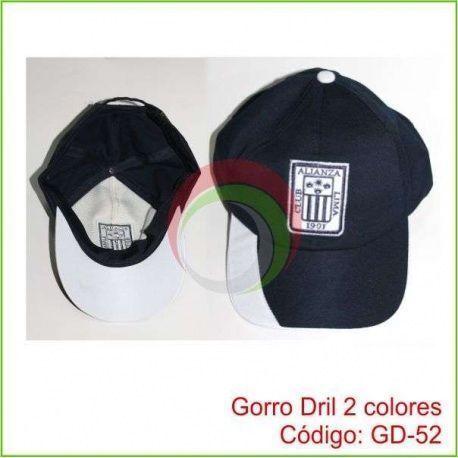 Gorro Dril 2 colores