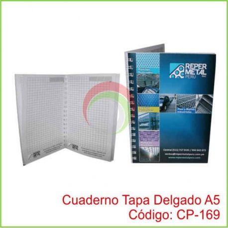 Cuaderno Tapa Delgado A5