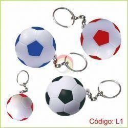 Llavero pelota futbol antiestres