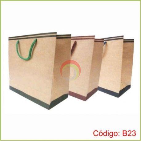 Bolsa ecologica de papel