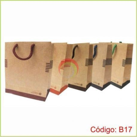 Bolsa ecologica de papel b