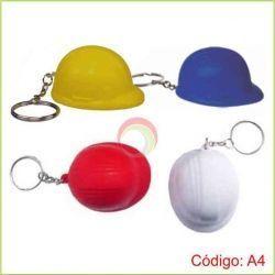 Llavero casco antiestres
