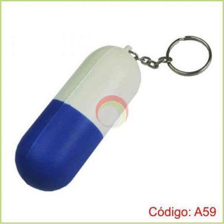 Llavero capsula antiestres