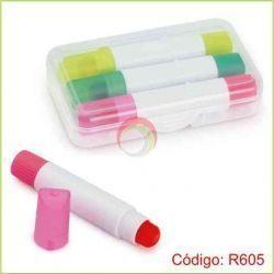 Set de 3 Resaltadores Tipo Crayola