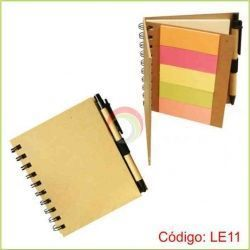 Libreta con lapicero yp ost-it