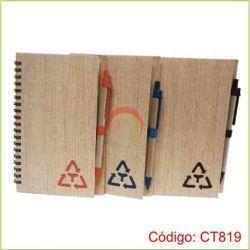 Libreta Ecologica con lapicero CT819