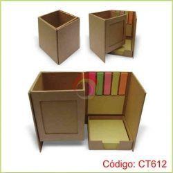 Set Porta lapicero ecológico