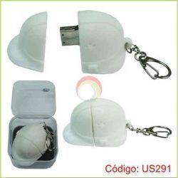 USB Llavero Casco de 4GB