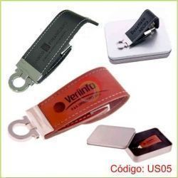 Usb rich de cuerina de 4gb