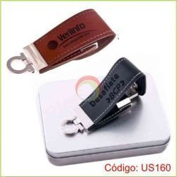 Usb rich de cuerina de 8gb