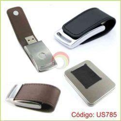 USB de cuero de 8 GB