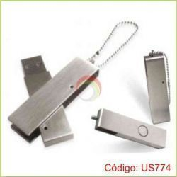 USB Trip de Metal de 8GB
