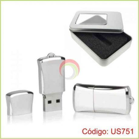 Usb metalico de 4gb