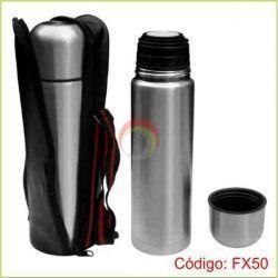 Termo Metalico Plateado FX50