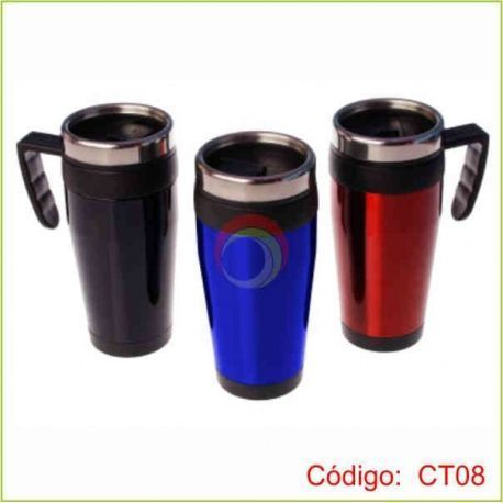 Travel mug de color