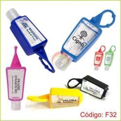 Frasco gel antibacterial 30 ml lleno