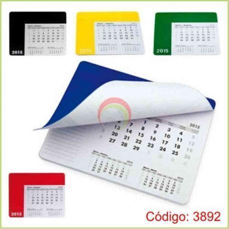 Mouse pad agenda calendario