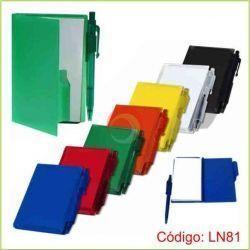 Libreta de Notas Plástico