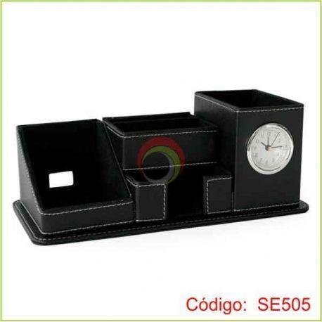 Set de escritorio color negro