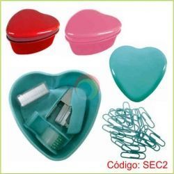 Set de escritorio corazon