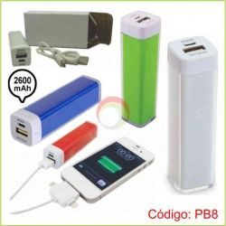 Power Bank de 2600 mAh
