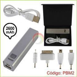 Power bank metalico 2600 mah