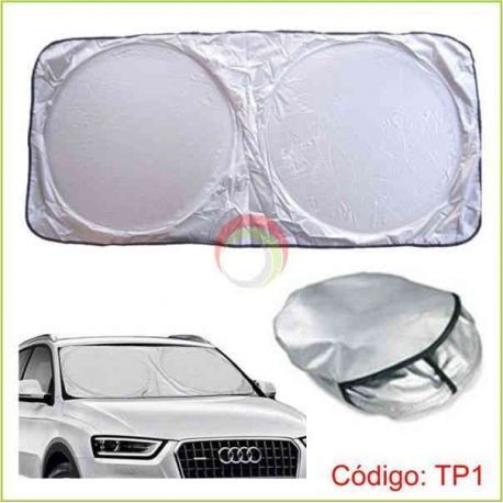 Tapasol colapsible frontal para autos
