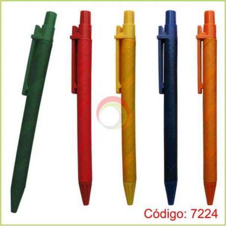 Lapiceros ecologicos 7224