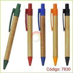 Lapiceros bambú 7830