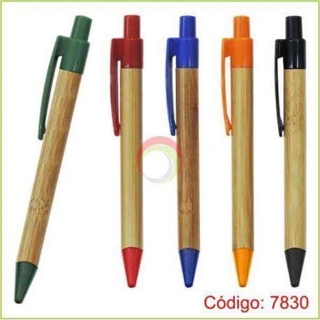 Lapiceros bambu