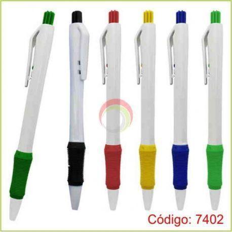 Lapiceros plasticos 7402