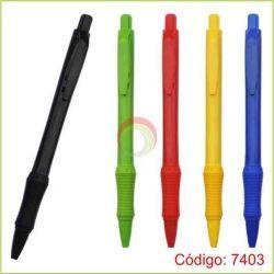 Lapiceros plasticos 7403