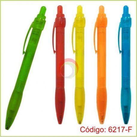 Lapiceros plasticos 6217-F