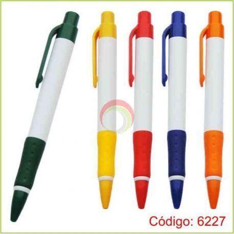 Lapiceros plasticos 6227