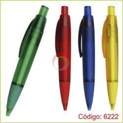 Lapiceros plasticos 6222