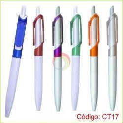 Lapicero Plastico CT17