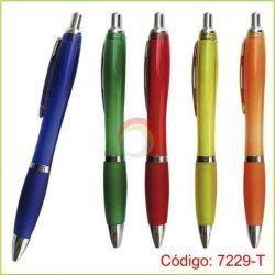 Lapicero Publicitario Código: 7229-T