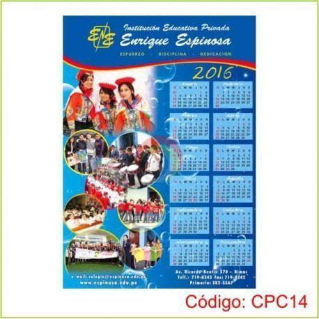 Calendarios de Pared 50 x 70