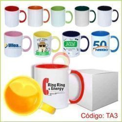 Taza con Interior y Asa Color 11 oz.