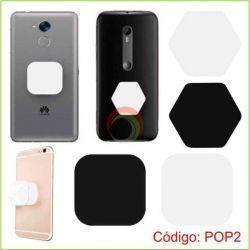 Pop Socket Cuadrado y Hexagonal