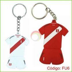 Llavero PVC Camiseta Perú