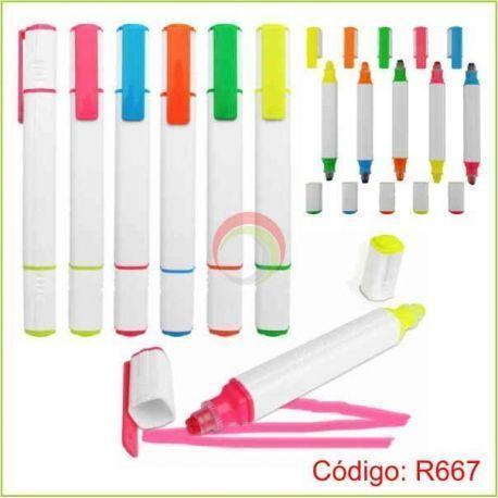 Resaltador 2 Colores